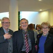 Luciano Seganfreddo (al centro)